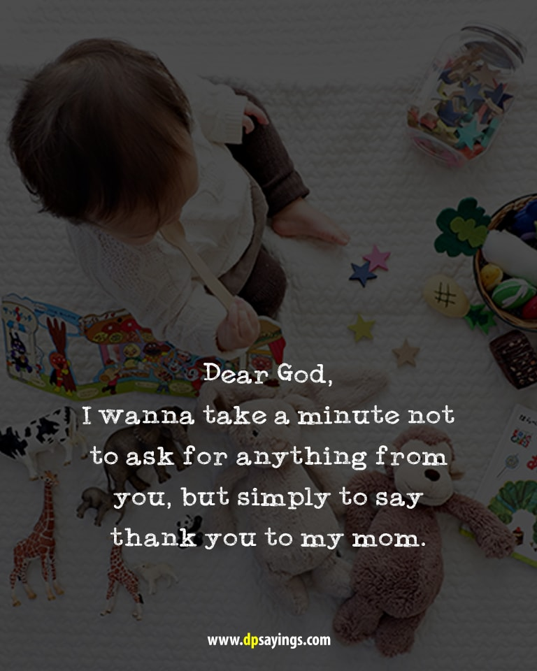 Quote and sayings about i love you mom