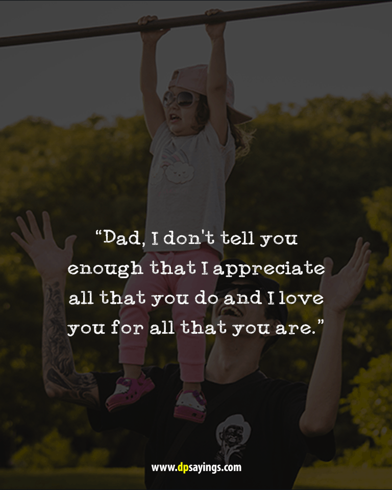Top 60 I Love You Dad Quotes And Sayings With Images Dp Sayings