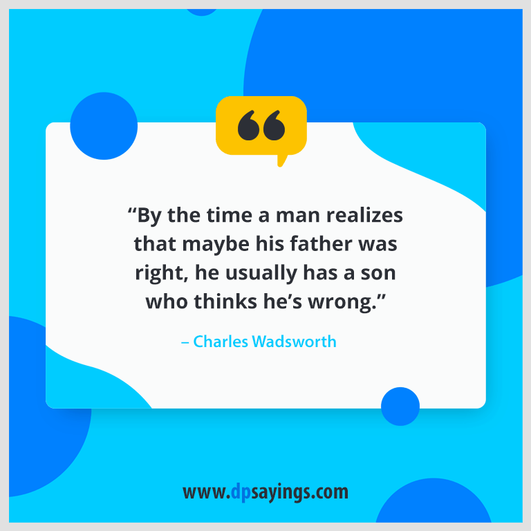 writer's quotes and sayings about father's love.