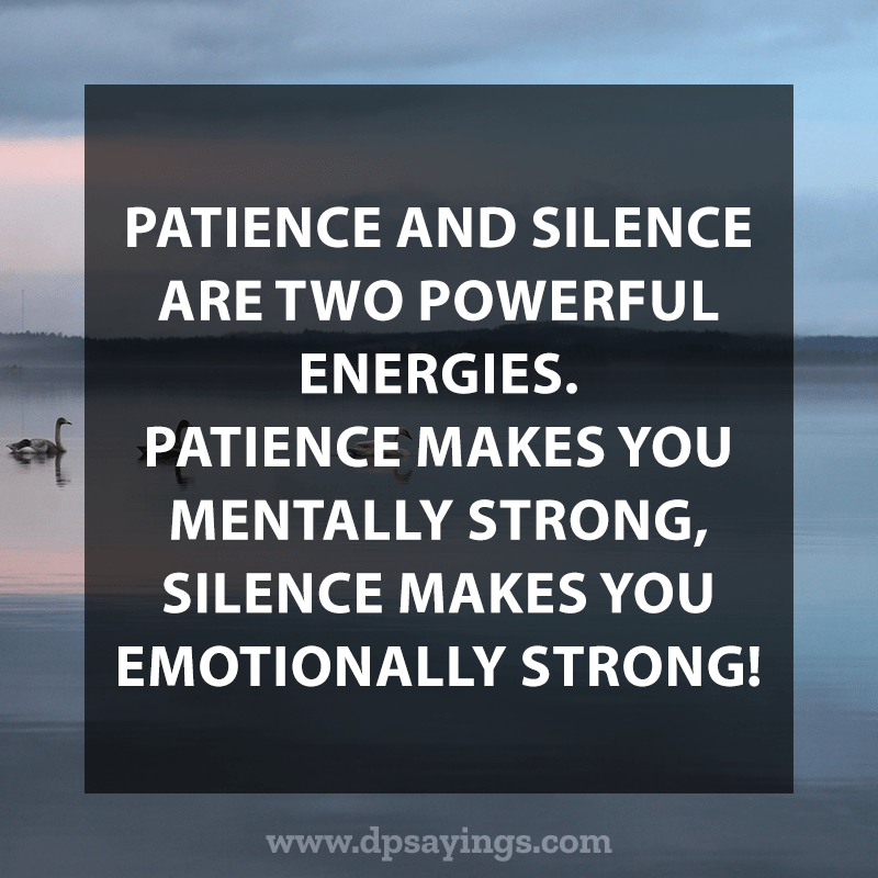 Best Patience Quotes And Sayings 20