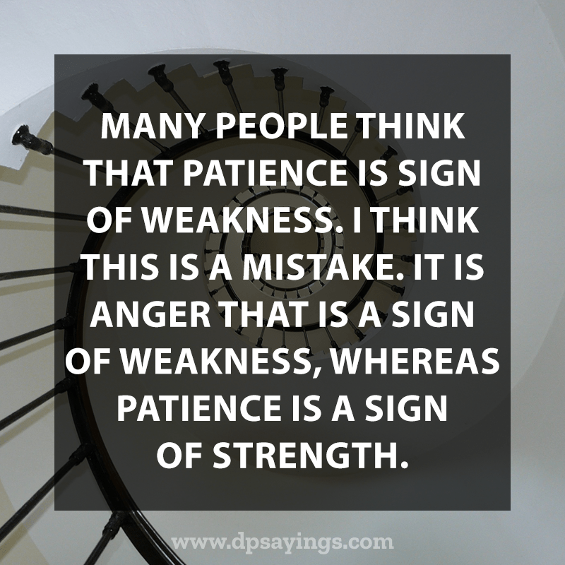 Best Patience Quotes And Sayings 24