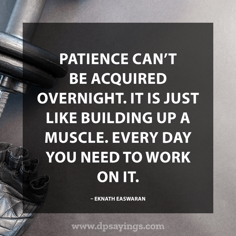 Best Patience Quotes And Sayings 40