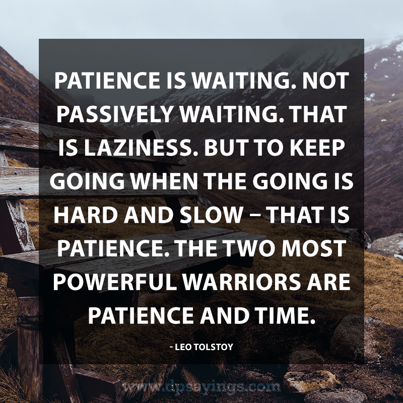Best Patience Quotes And Sayings 72