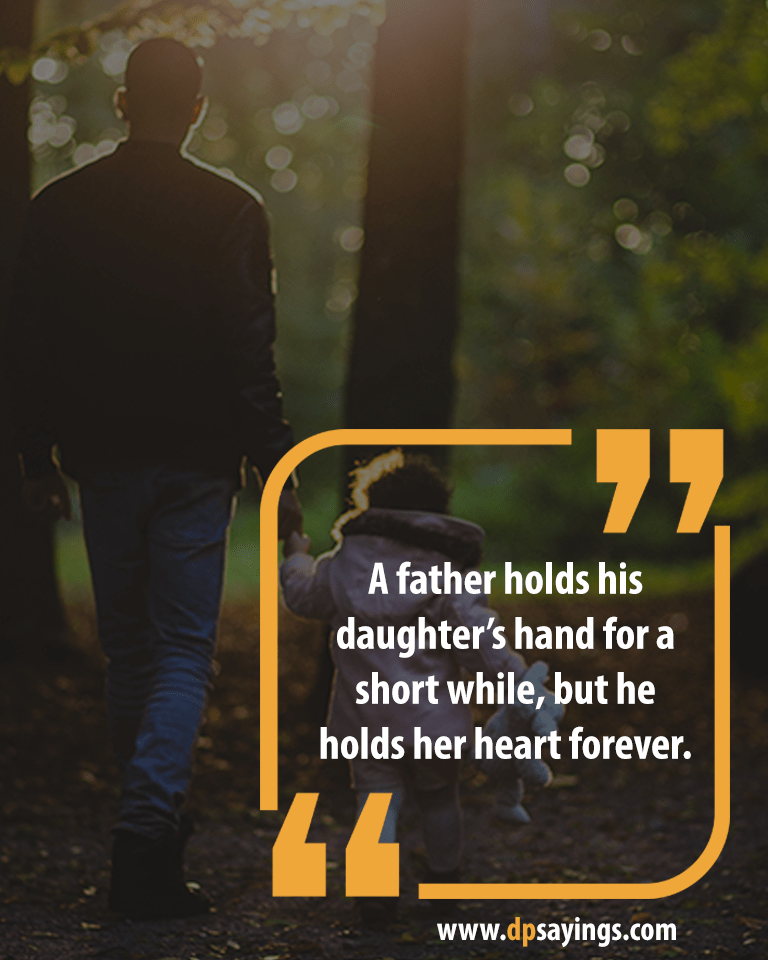 Dad and daughter quotes and sayings 2