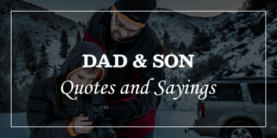 Dad and son quotes and sayings featured image
