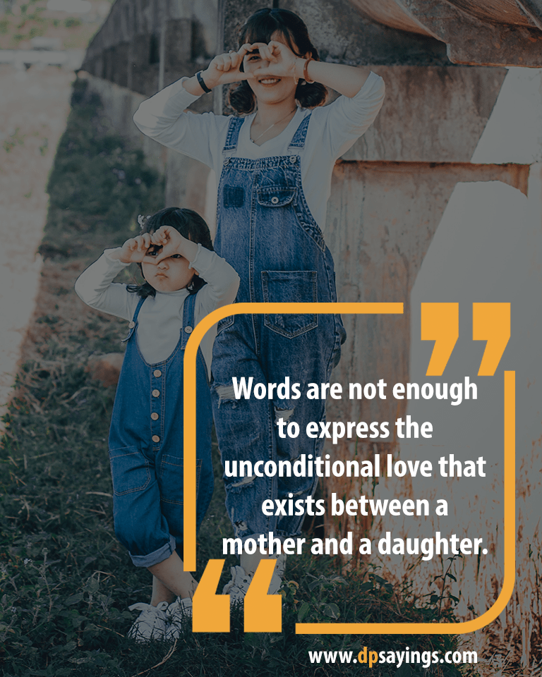 Mom and Daughter Quotes and Sayings 10