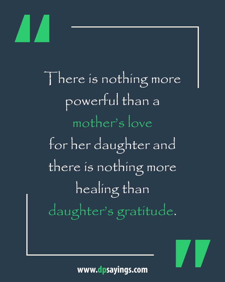 Mom and Daughter Quotes and Sayings 18