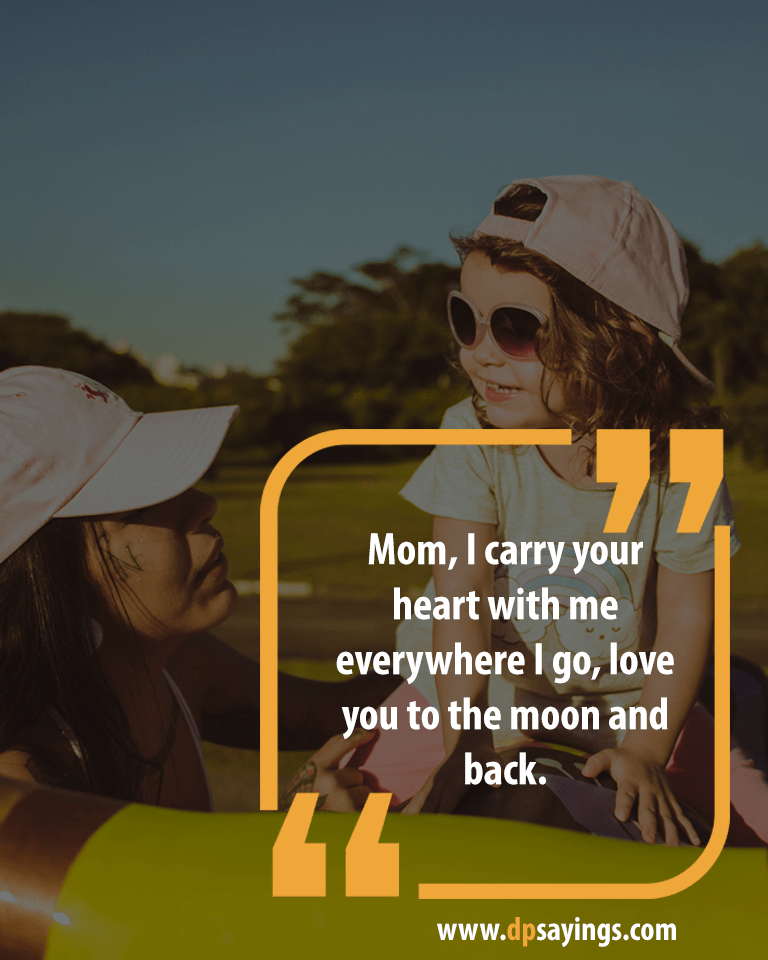 Mom and Daughter Quotes and Sayings 8