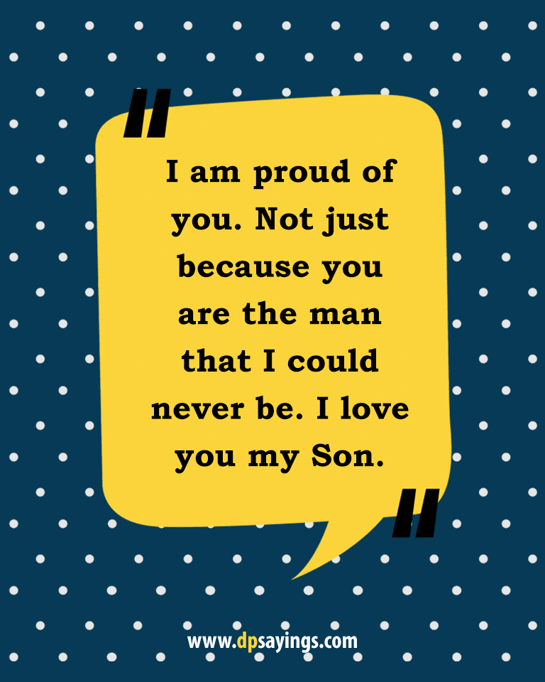 Quotes and sayings about mom and son 16
