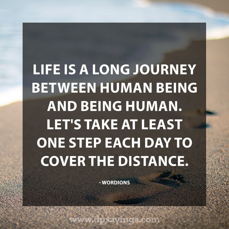 life is a journey quotes and sayings 28