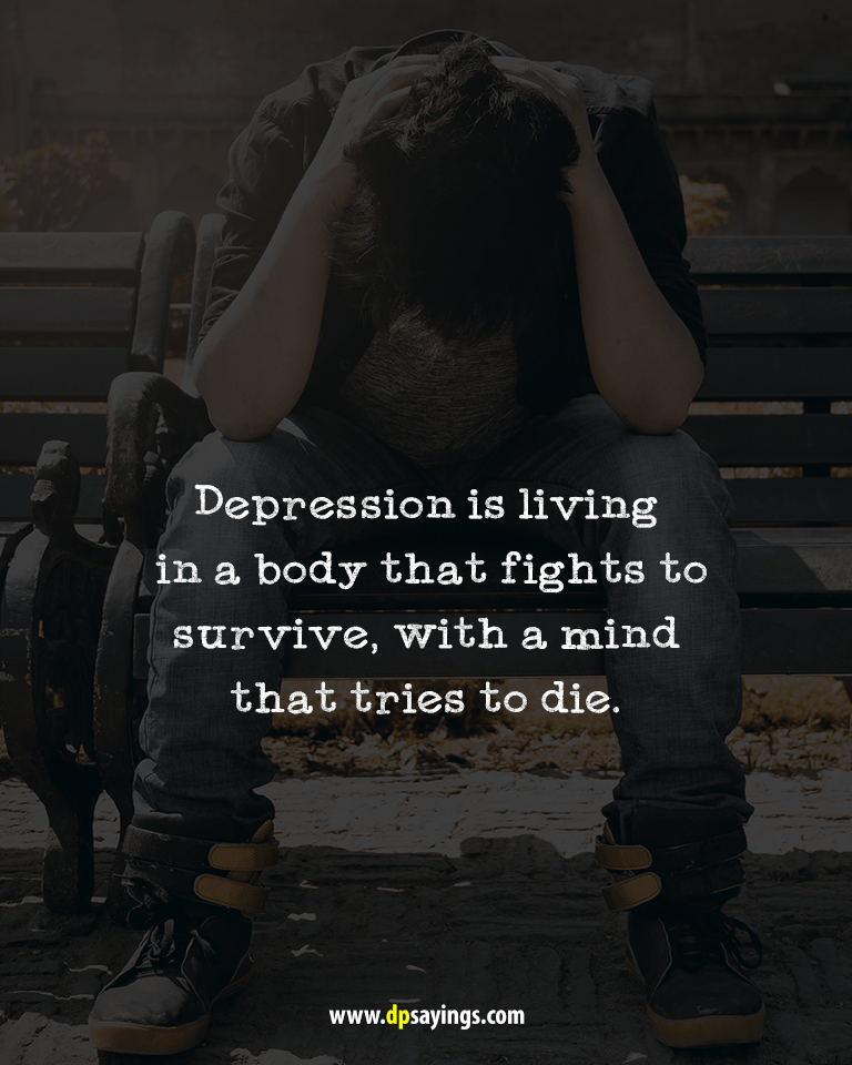 Deep Depression Quotes and Sayings 35