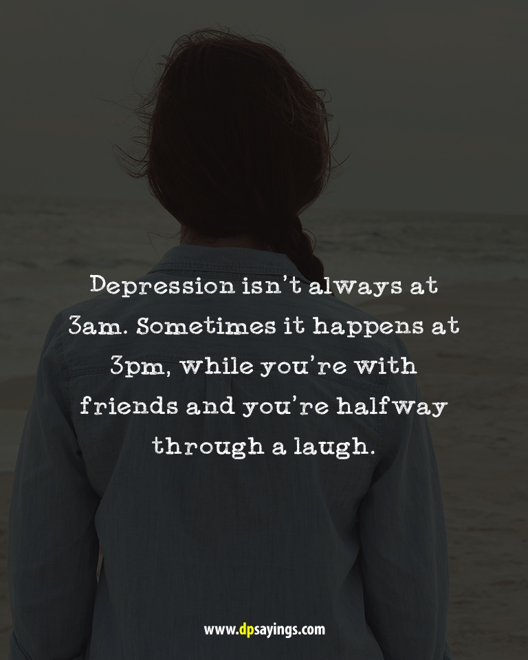 Deep Depression Quotes and Sayings 80
