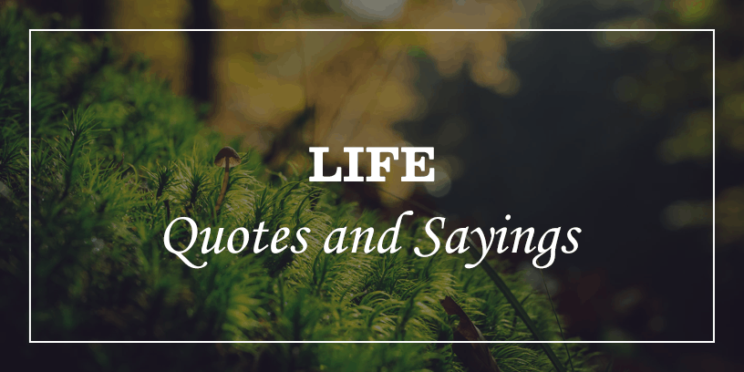 100 Deep Meaningful Life Quotes that will make you think ...