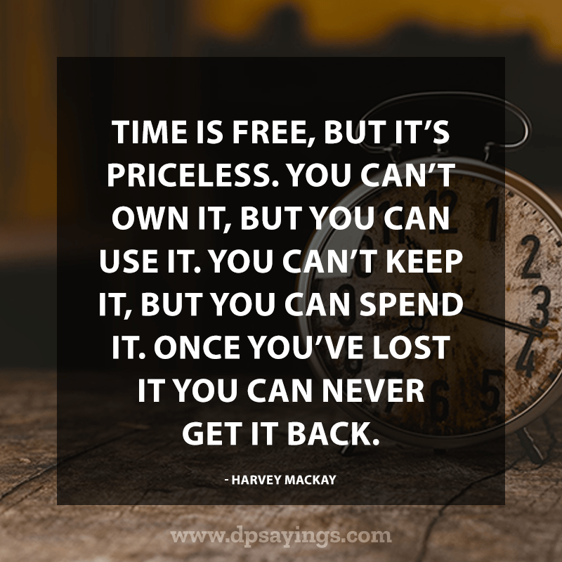 Precious Time Quotes and Sayings 25