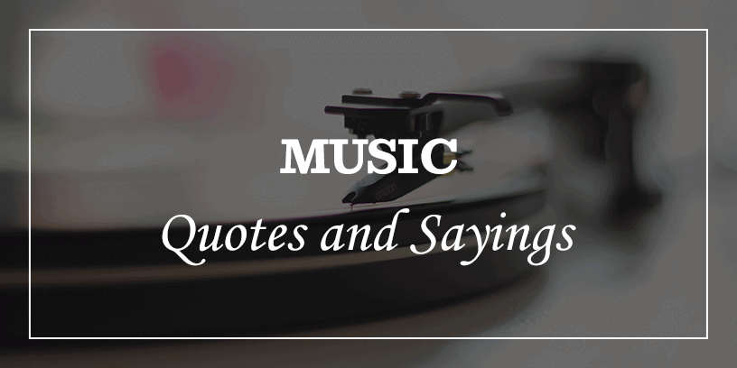 featured image for great music quotes and sayings