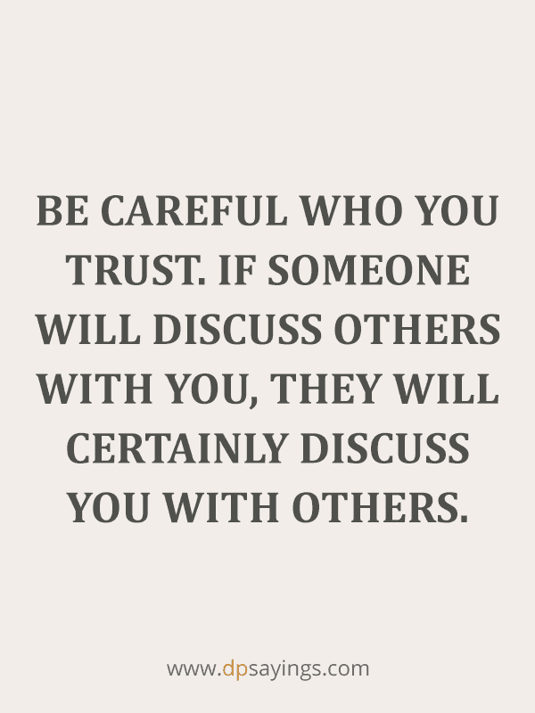 Best Trust Quotes and Trust Issues Sayings 85
