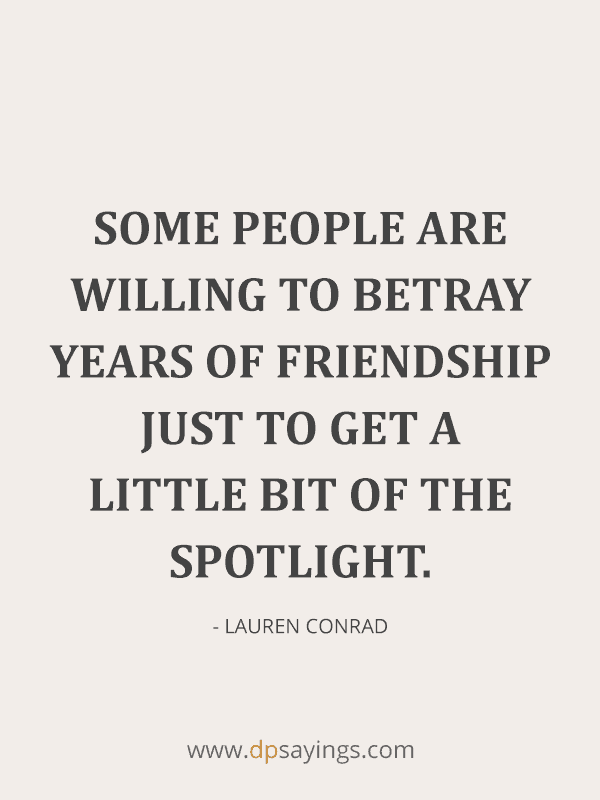 Betrayal Quotes And Sayings on Friendship and Love 32