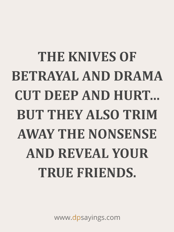 Betrayal Quotes And Sayings on Friendship and Love 40
