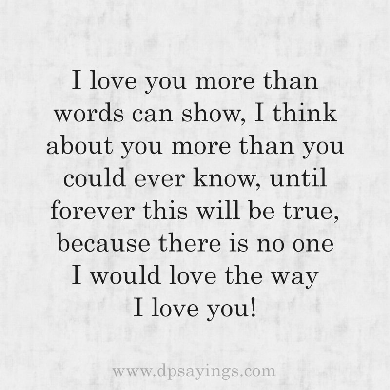 True love Quotes And Sayings For Him And Her 36