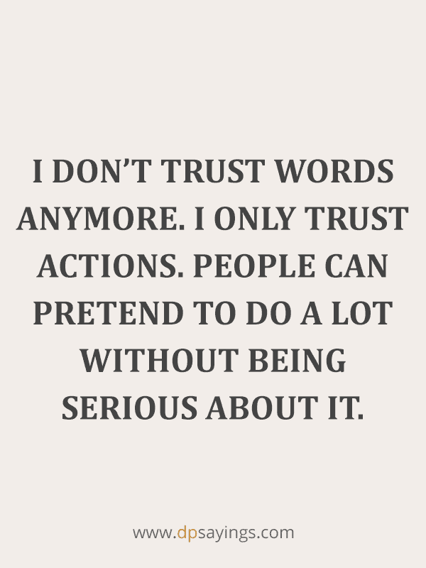 Trust Quotes and Trust Issues Sayings 12