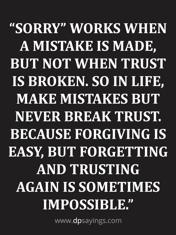 91 Eye Opening Trust Quotes And Trust Issues Sayings Dp Sayings