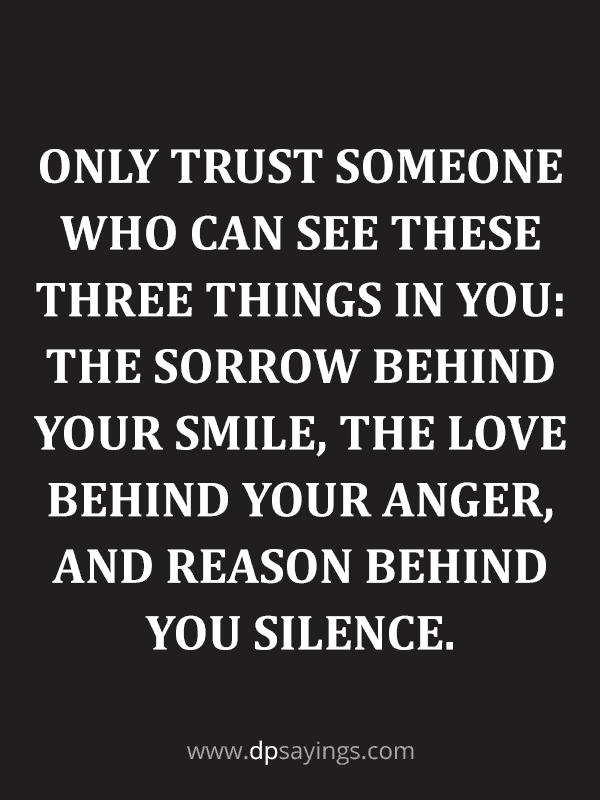 Trust Quotes and Trust Issues Sayings 27