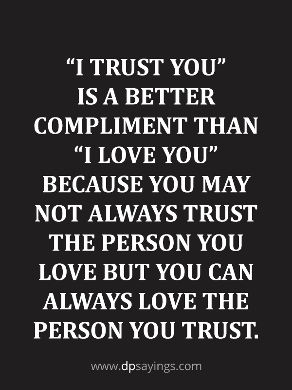 Trust Quotes and Trust Issues Sayings 3