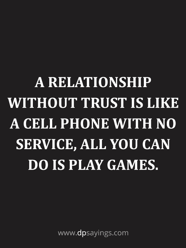 Trust Quotes and Trust Issues Sayings 51