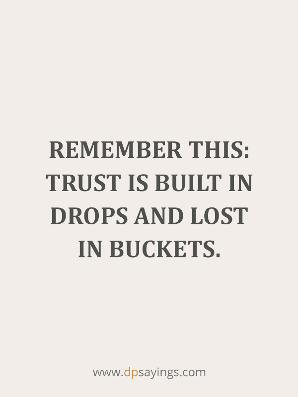 Trust Quotes and Trust Issues Sayings 54
