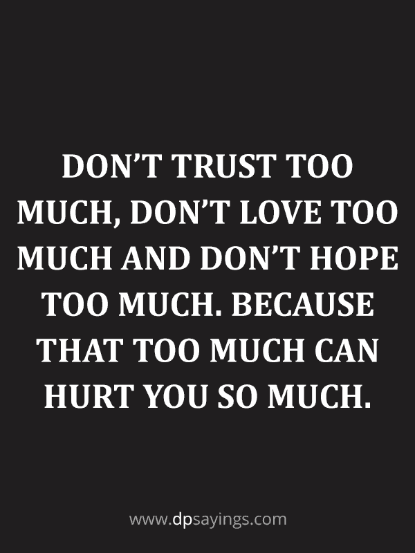 Trust Quotes and Trust Issues Sayings 69