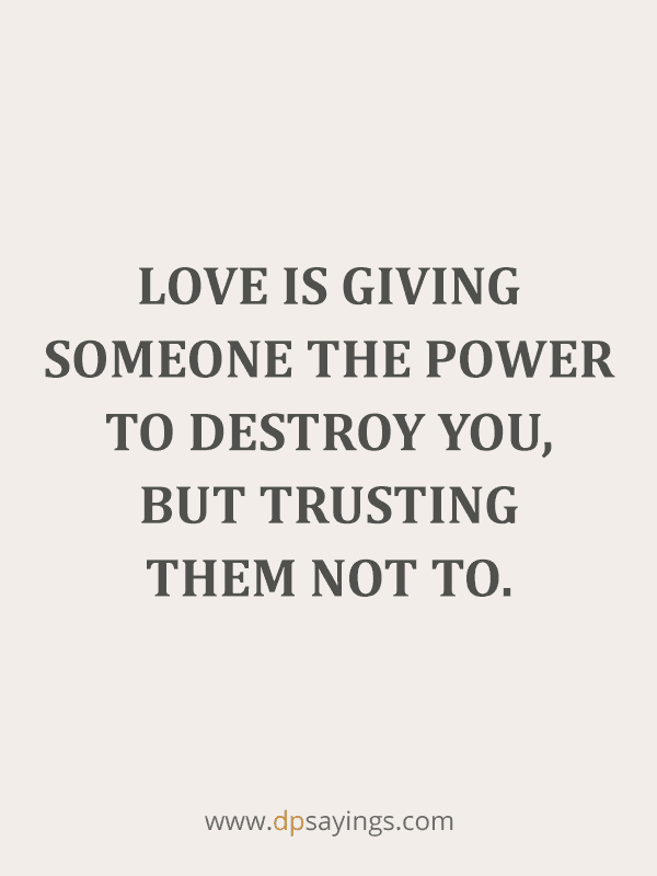 Trust Quotes and Trust Issues Sayings 72