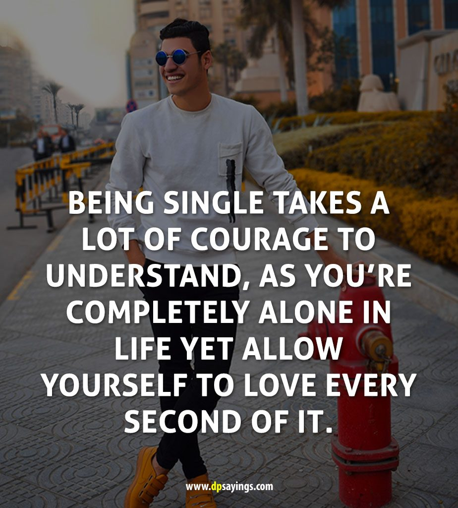 12 Being Single And Funny Single Quotes And Sayings   DP Sayings