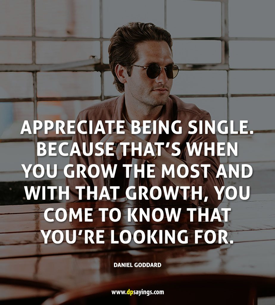 Being Single Quotes And Sayings 44
