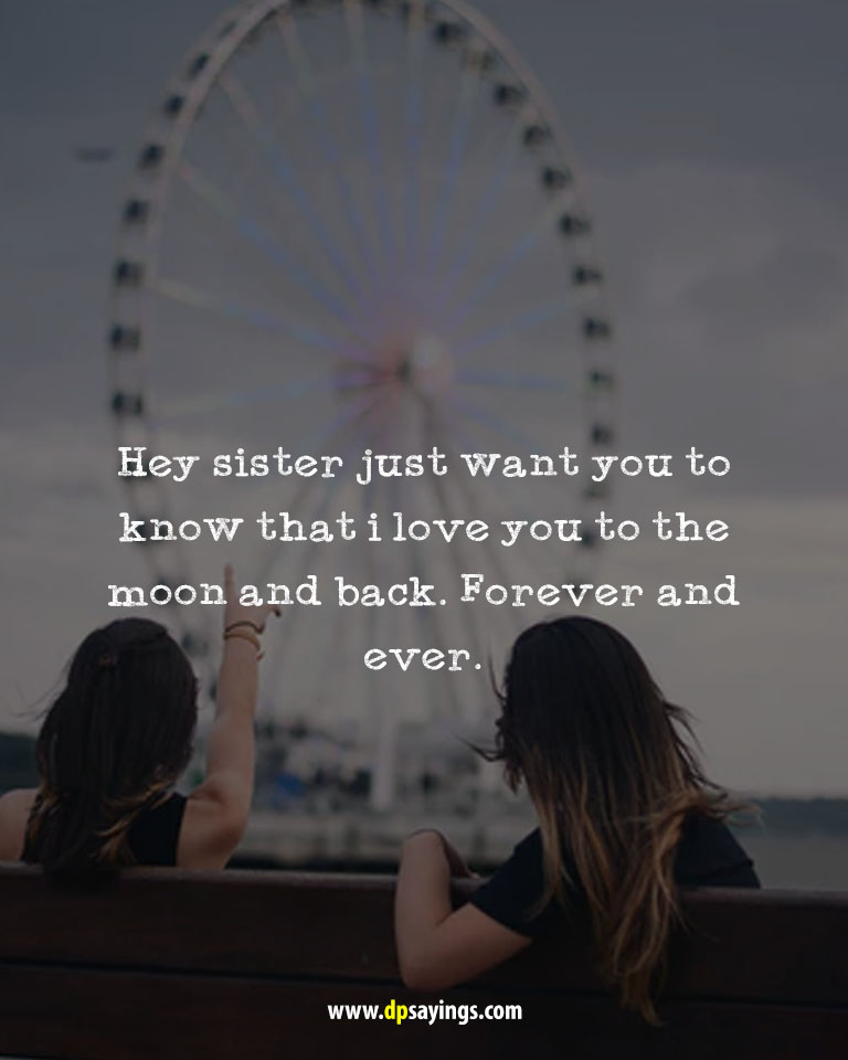i love my sister quotes and sayings 4