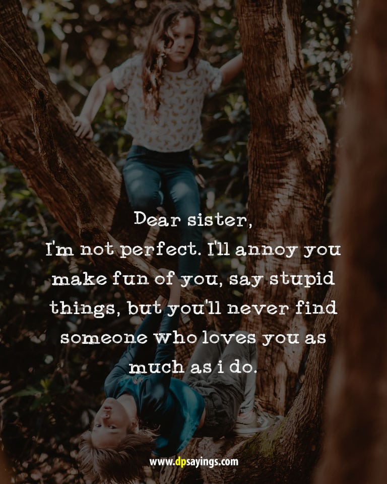 i love my sister quotes and sayings 16