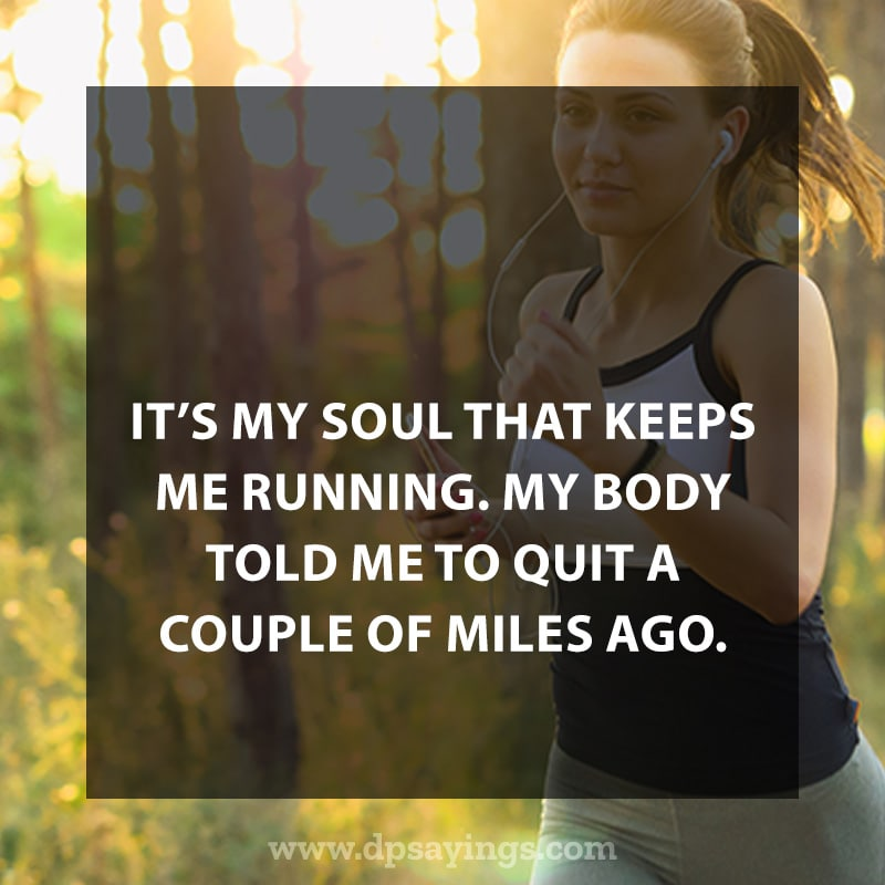 Highly Inspiring Running Quotes Sayings With Images 32