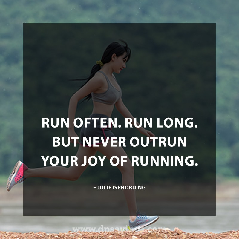 Highly Inspiring Running Quotes Sayings With Images 36
