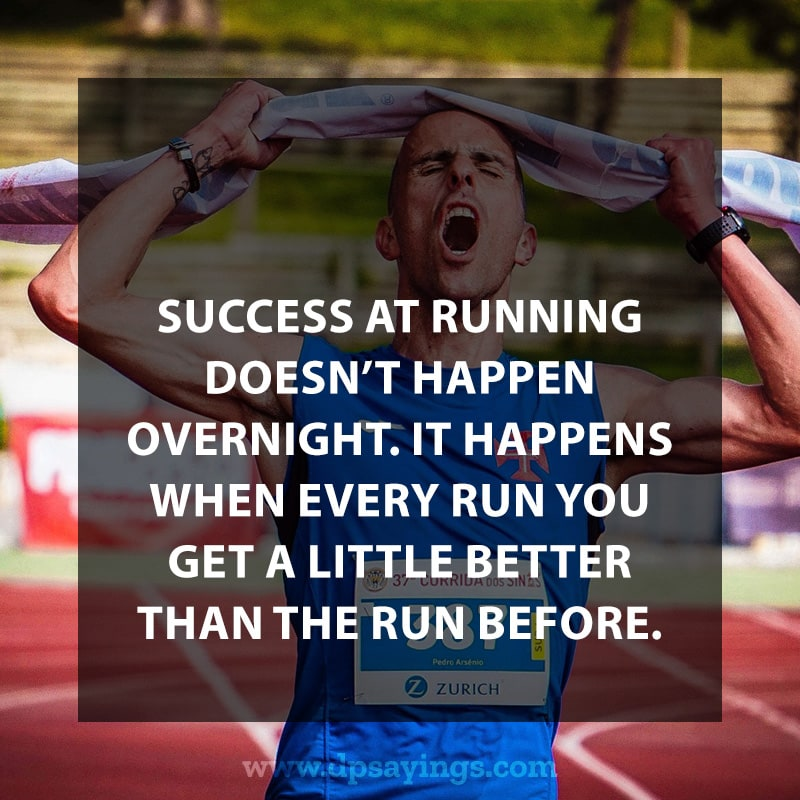Highly Inspiring Running Quotes Sayings With Images 80
