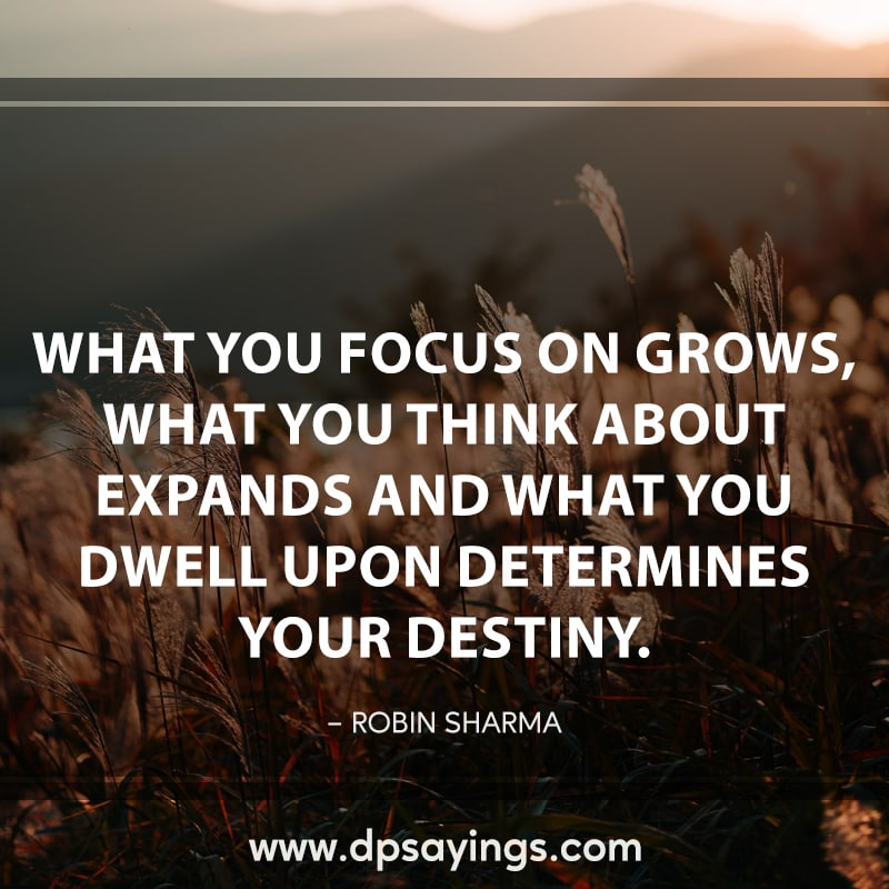 time to focus quotes