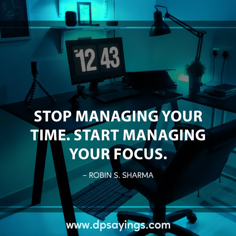44 focus quotes and sayings