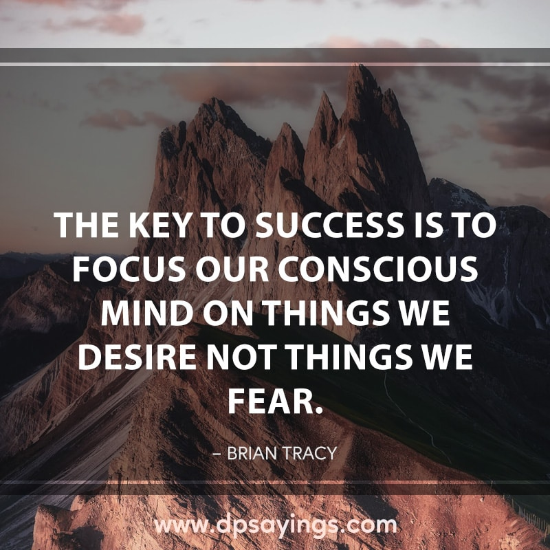 48 focus quotes and sayings