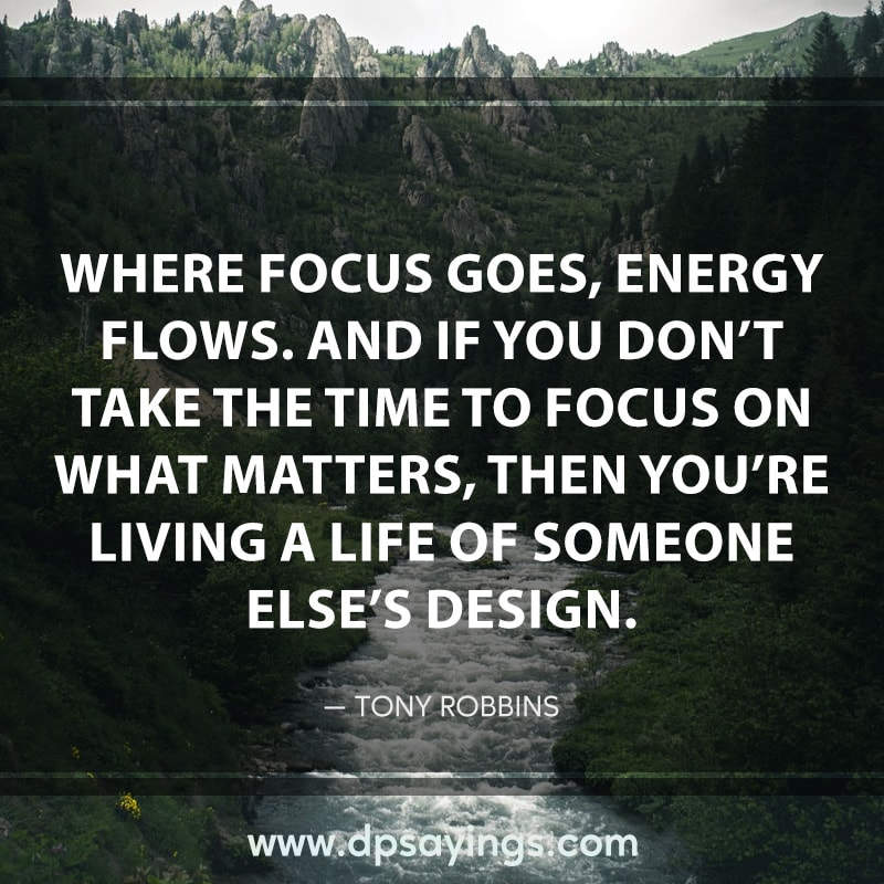 52 focus quotes and sayings