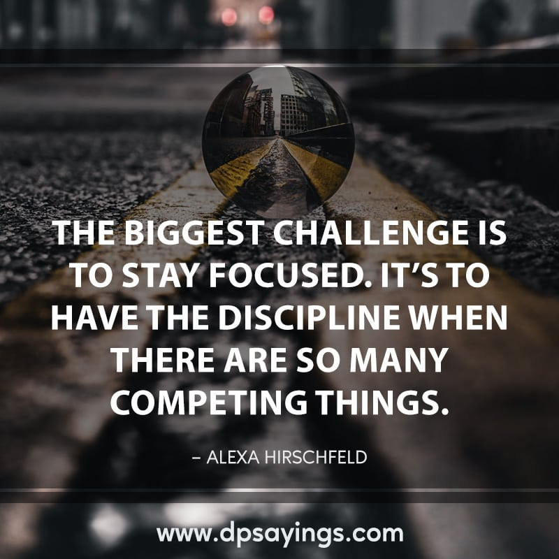 72 focus quotes and sayings