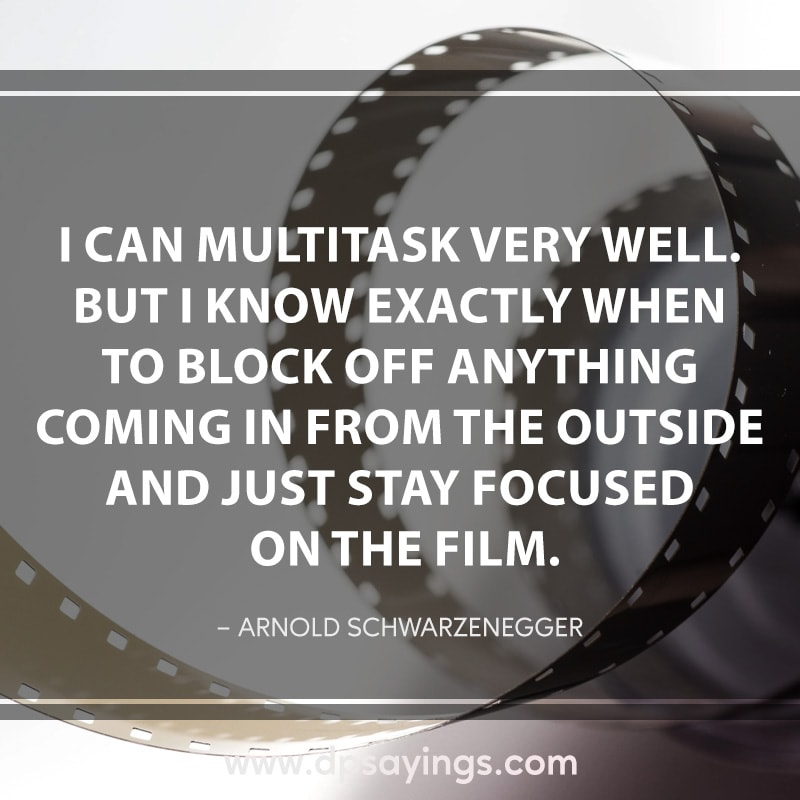 80 focus quotes and sayings