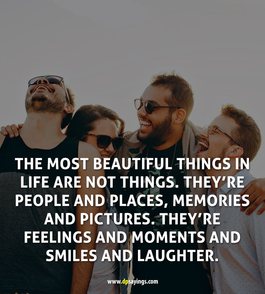 friends smile quotes and sayings