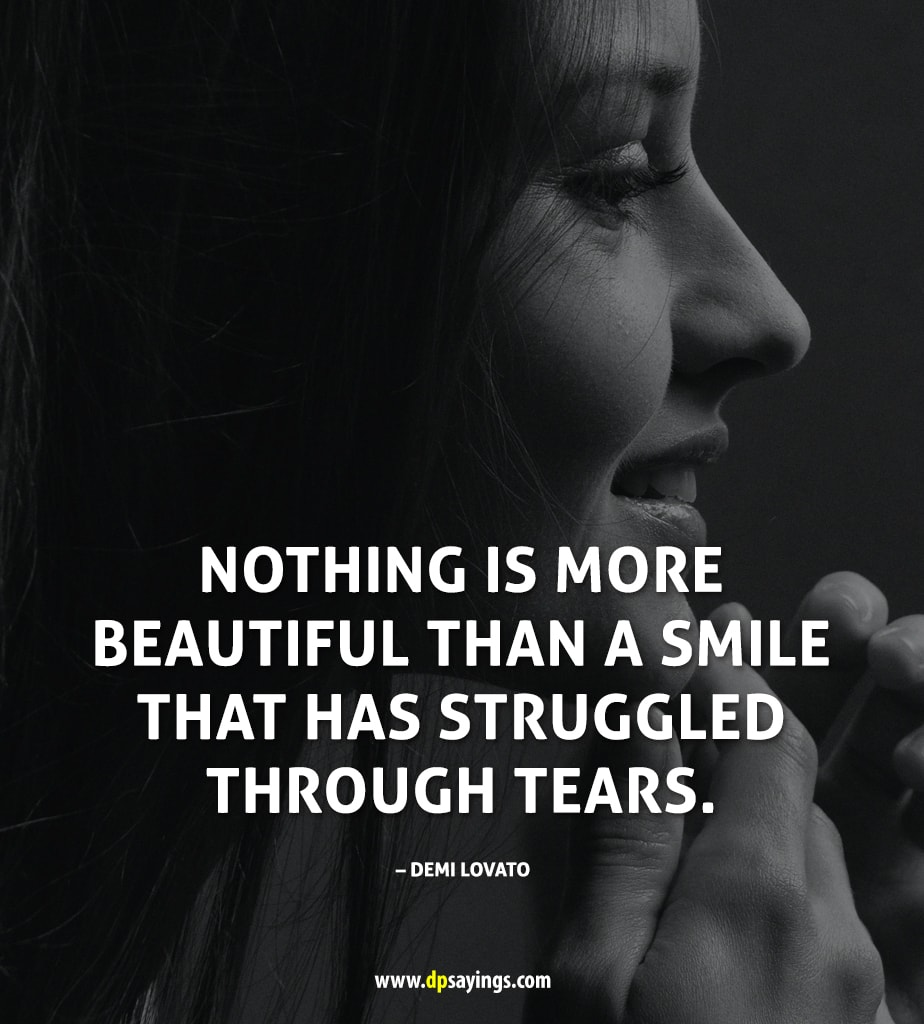 trying to smile quotes and sayings