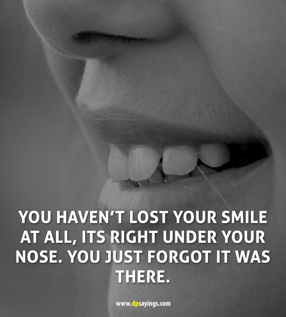 smile quotes about life