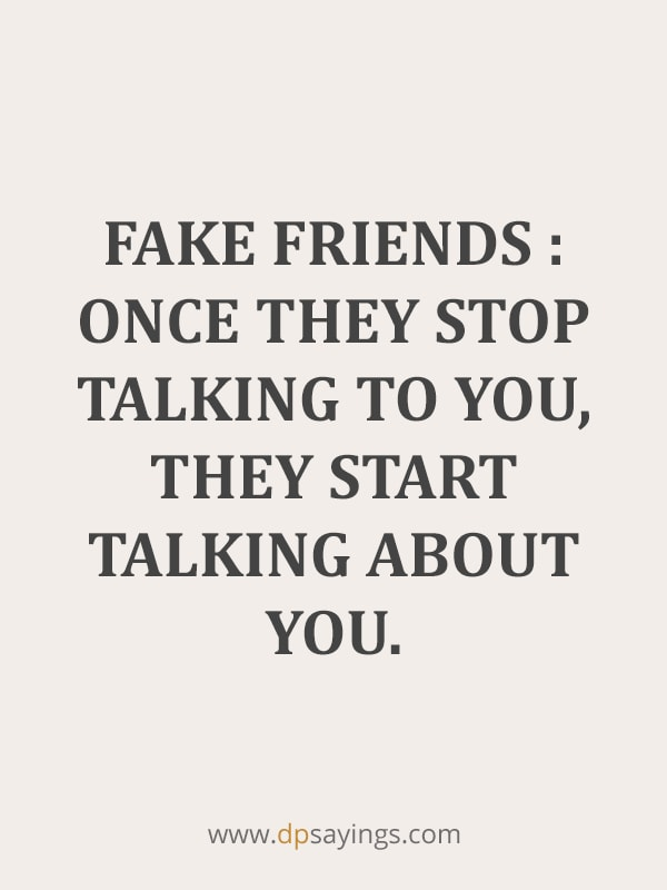 Fake Friends And Fake People Quotes 16