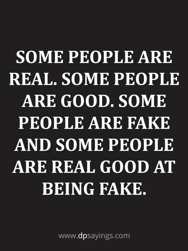 Fake Friends And Fake People Quotes 20