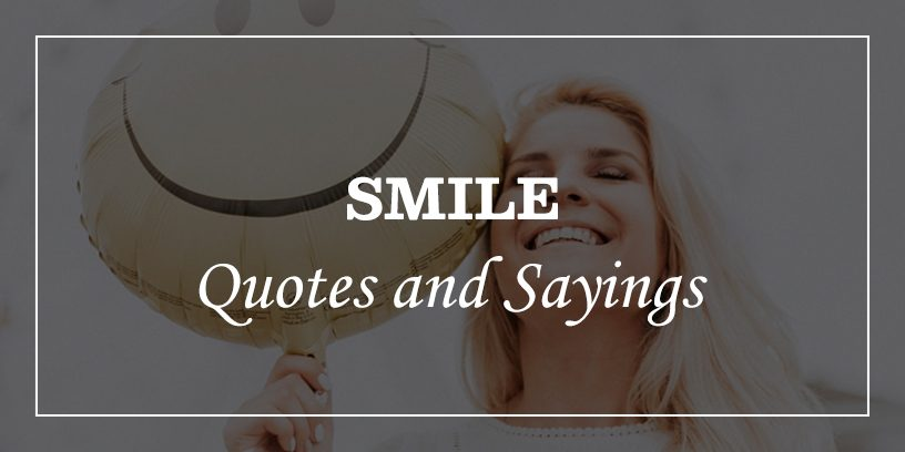 Featured Image for smile quotes and sayings